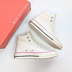 Converse Chuck 70 Hi Natural Ivory/Pink